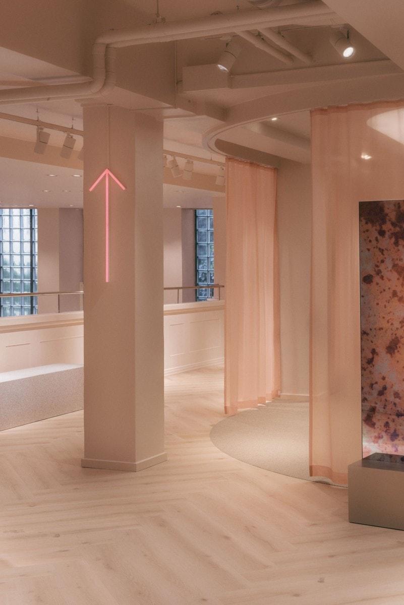La nueva tienda de la firma Gina Tricot es una oda al buen diseño contemporáneo