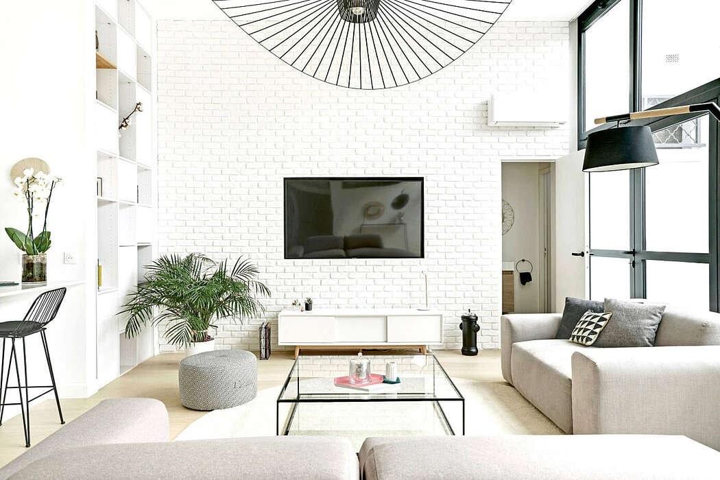 Moderno loft a las afueras de París