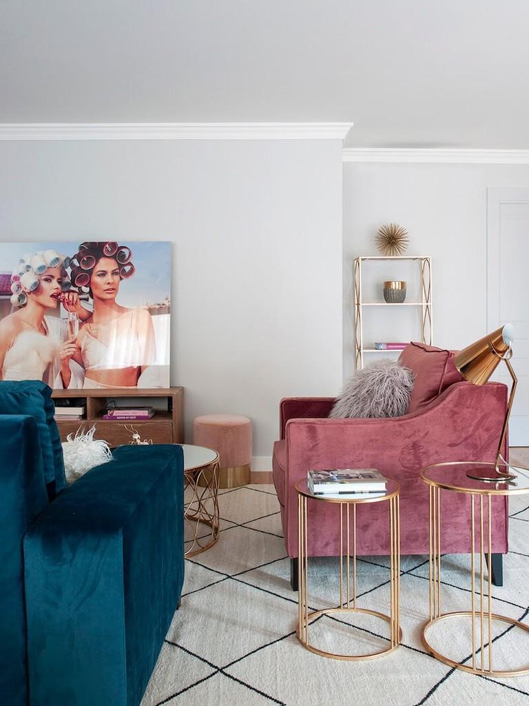 Estilo luxury chic y nórdico en Chamberí, Madrid