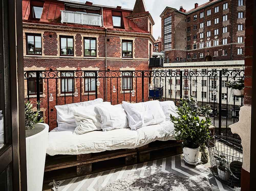 plantas exterior muebles de exterior exteriores nórdicos diseño exteriores decoración terrazas pequeñas decoración balcones