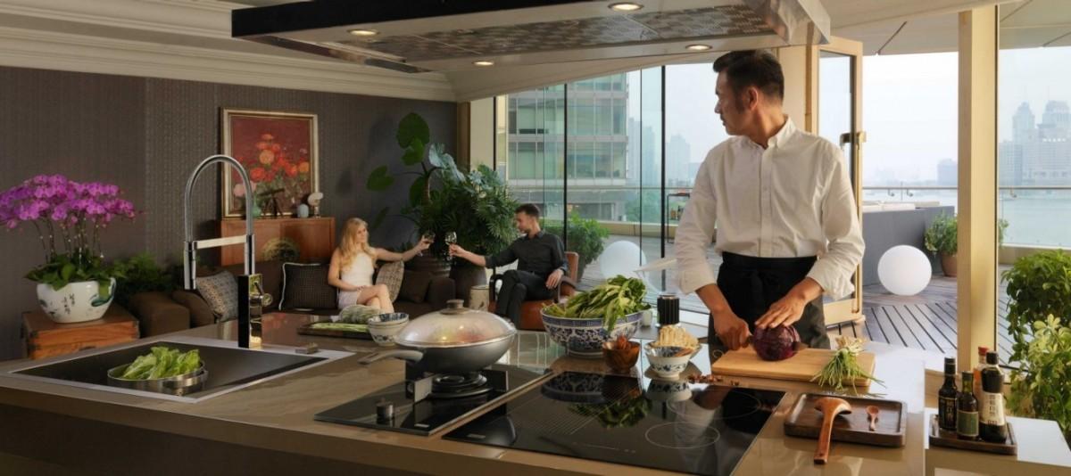 fregaderos modernos cocinas con isla cocinas con cristal cocina modernas cocina minimalista cocina exterior cocina exclusiva