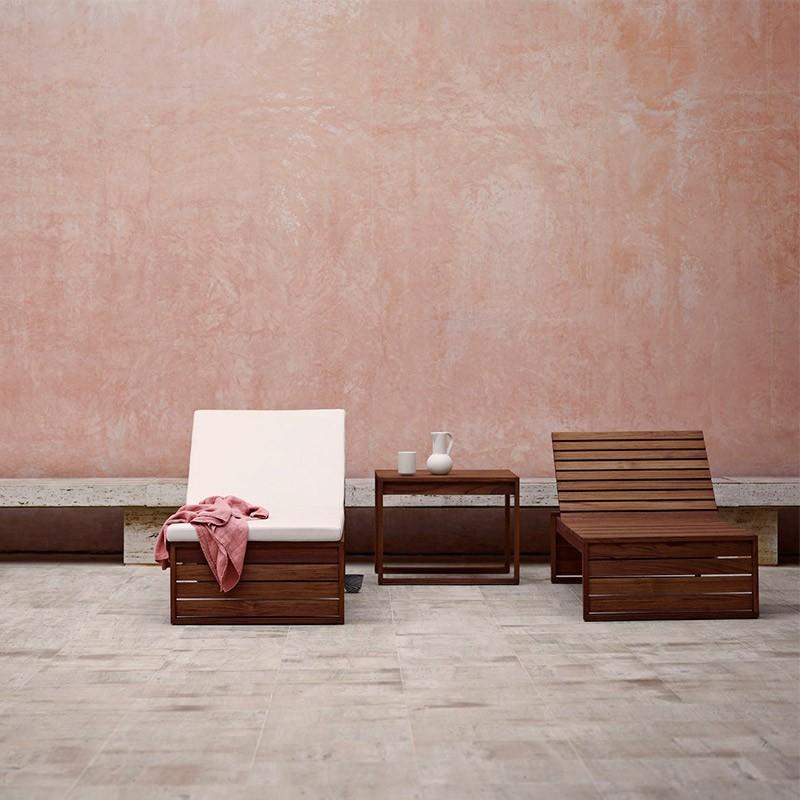 muebles terraza muebles madera exterior muebles de teca muebles de diseño nórdico muebles daneses diseño danés