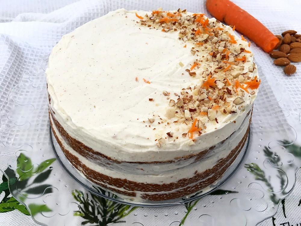 Tarta De Zanahoria Sin Gluten Delikatissen