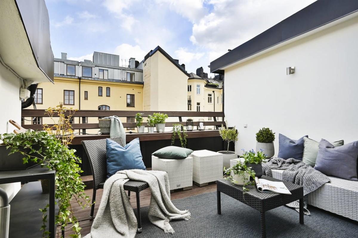 Ático con terraza, lo que todo el mundo quiere en la cuarentena