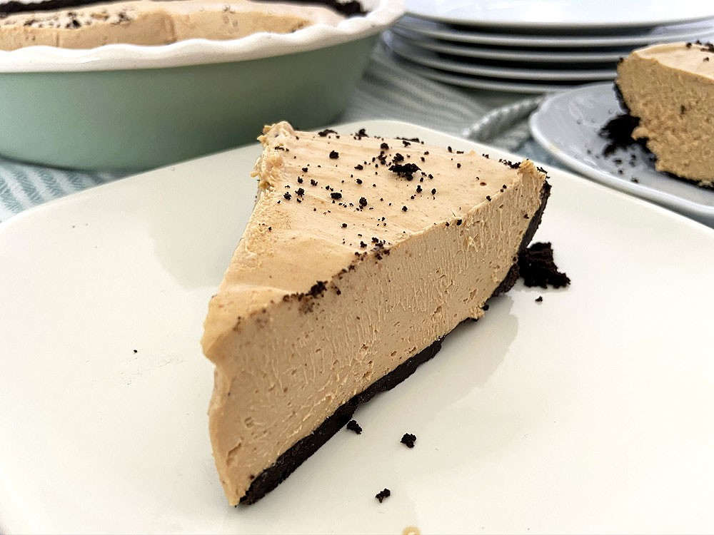 The best easy peanut butter pie