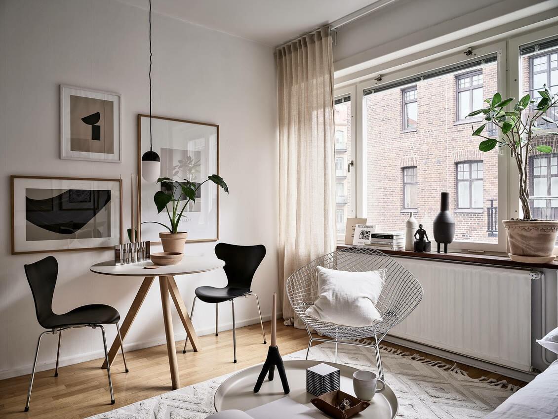 Moderno estudio de 27 m² de diseño