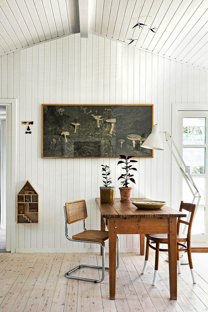 De vieja caseta de huerto, a acogedora casita de madera de verano