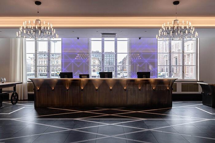 De estación de tren a hotel exclusivo: Scandic Grand Central