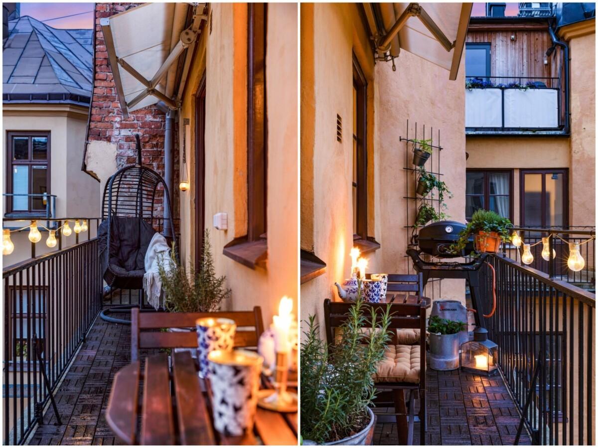 Cómo aprovechar un balcón pequeño y estrecho