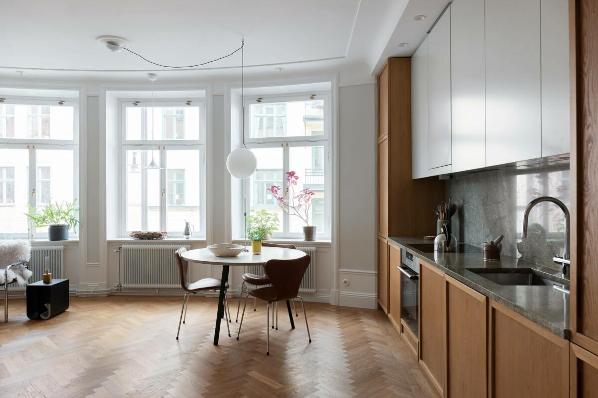 Exclusivo apartamento reformado en Estocolmo